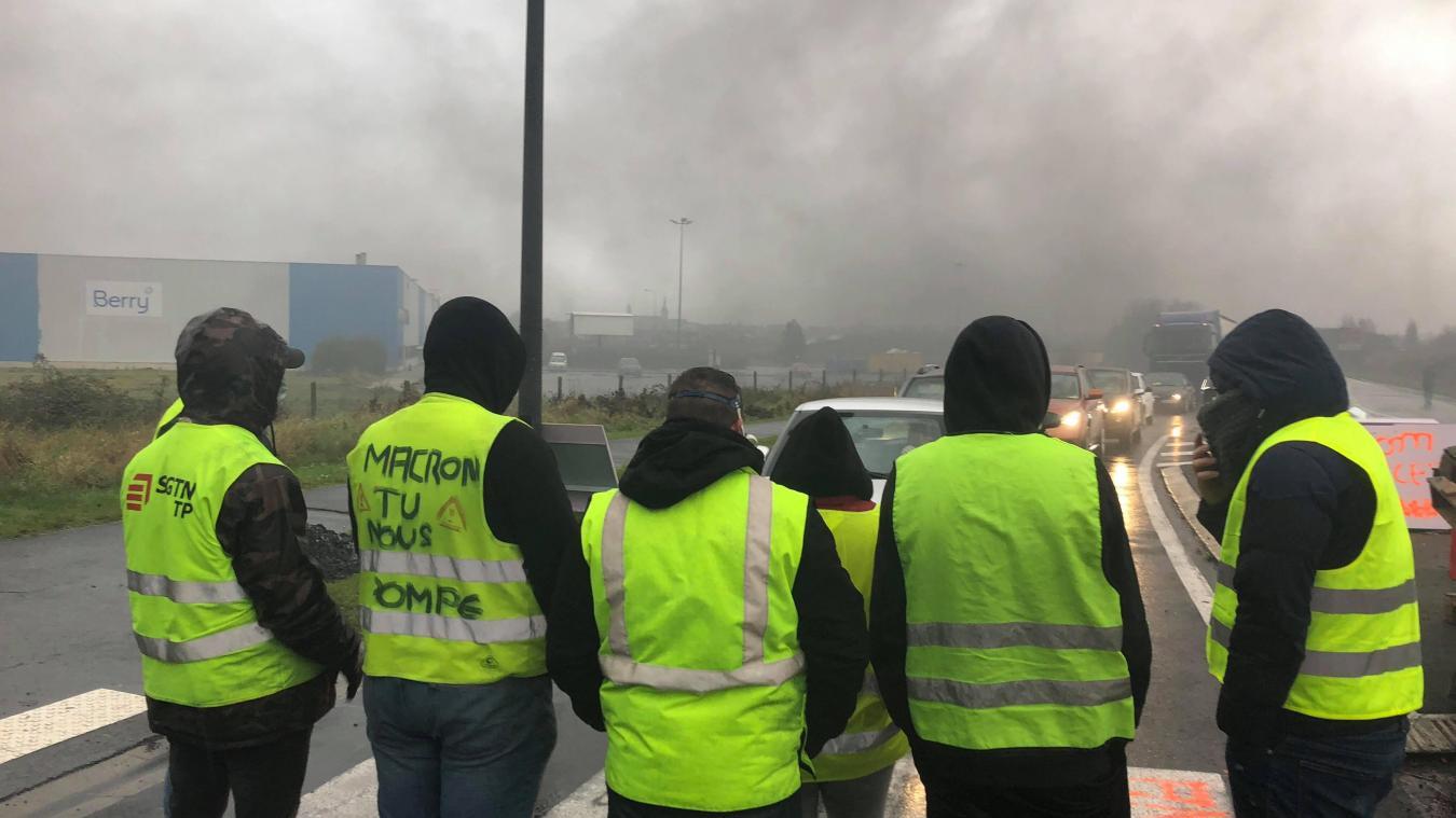 Bailleul: la mobilisation des Gilets jaunes se poursuit