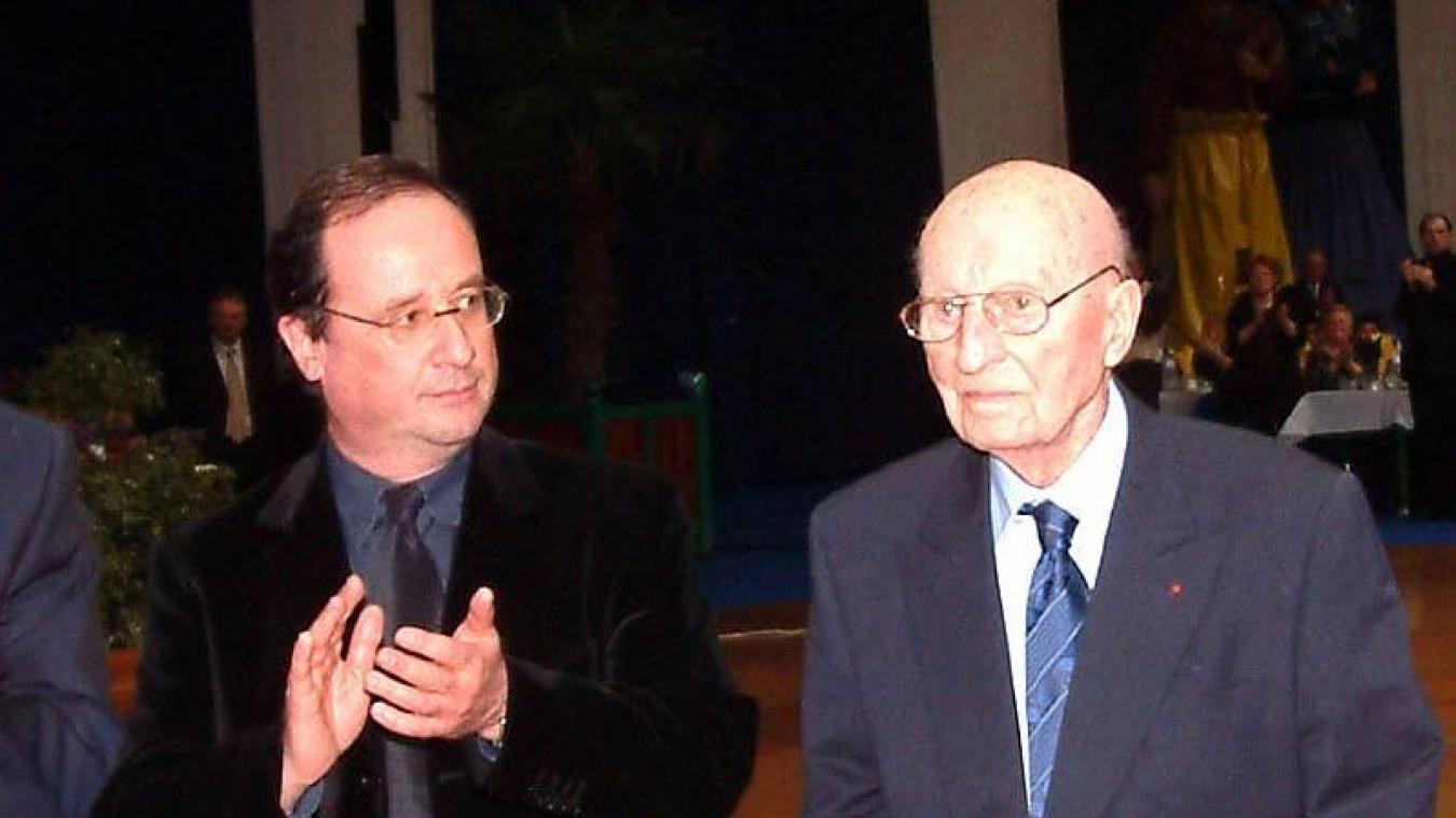 Même François Hollande y est allé de ses félicitations pour Albert Denvers.