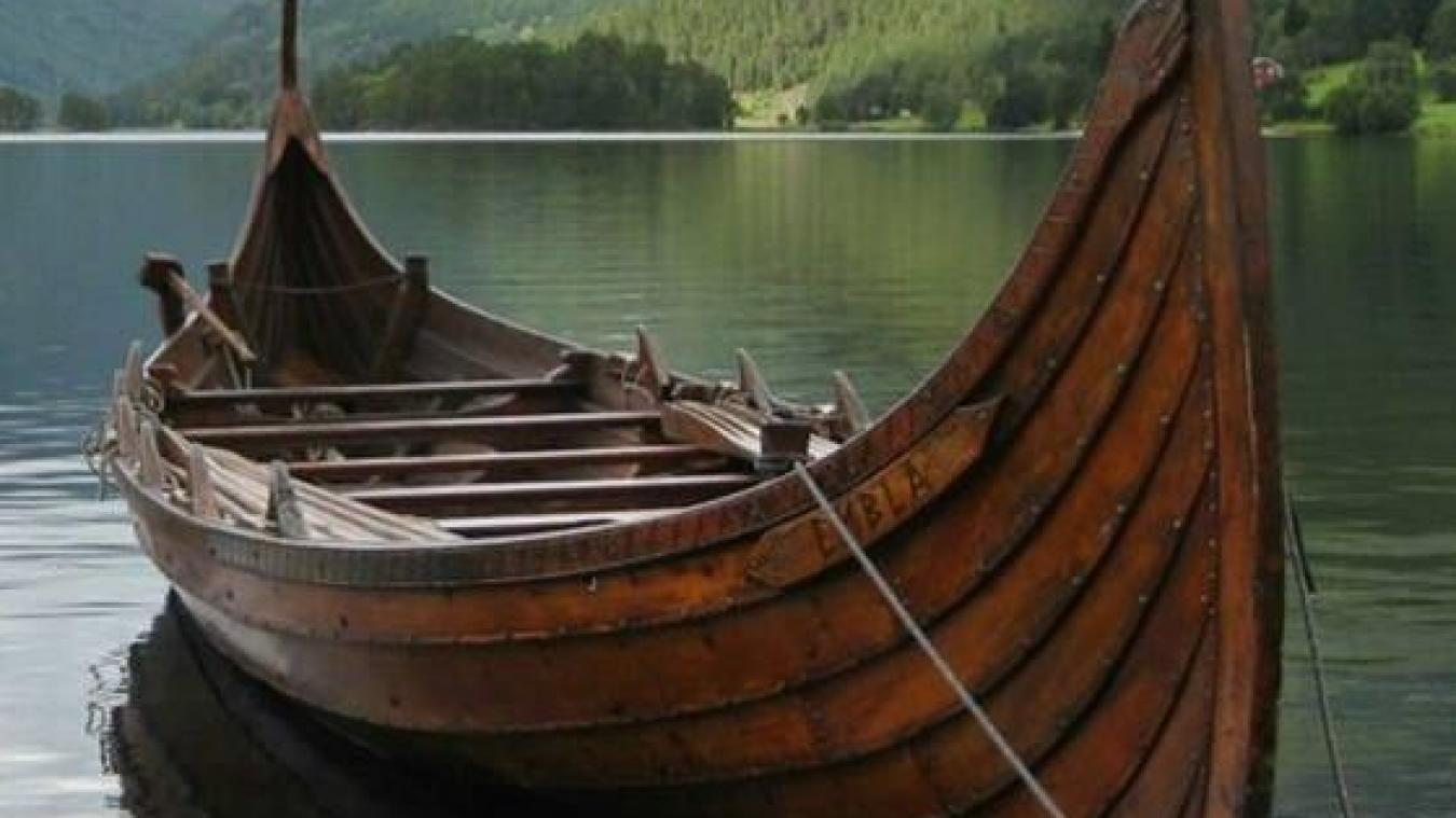 Un bateau viking en construction à Gravelines