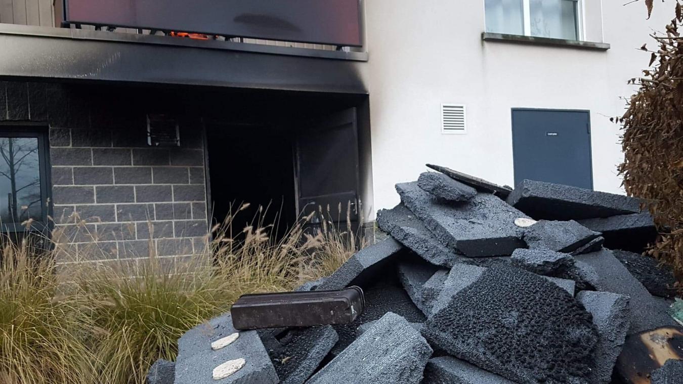 L'incendie s'est déclenché au local poubelles de l'immeuble n°4 rue Gandhi.