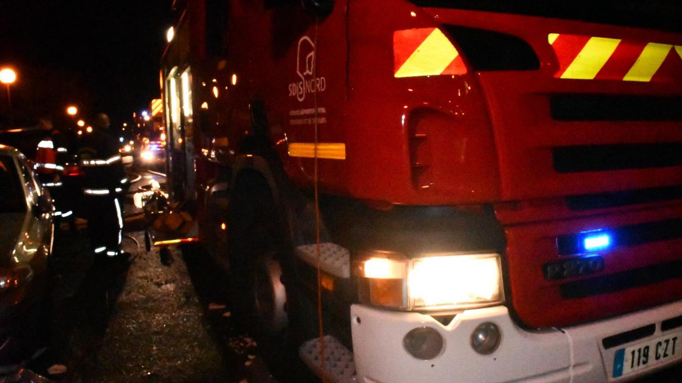 L'accident a eu lieu route de Saint-Omer, à Crochte.