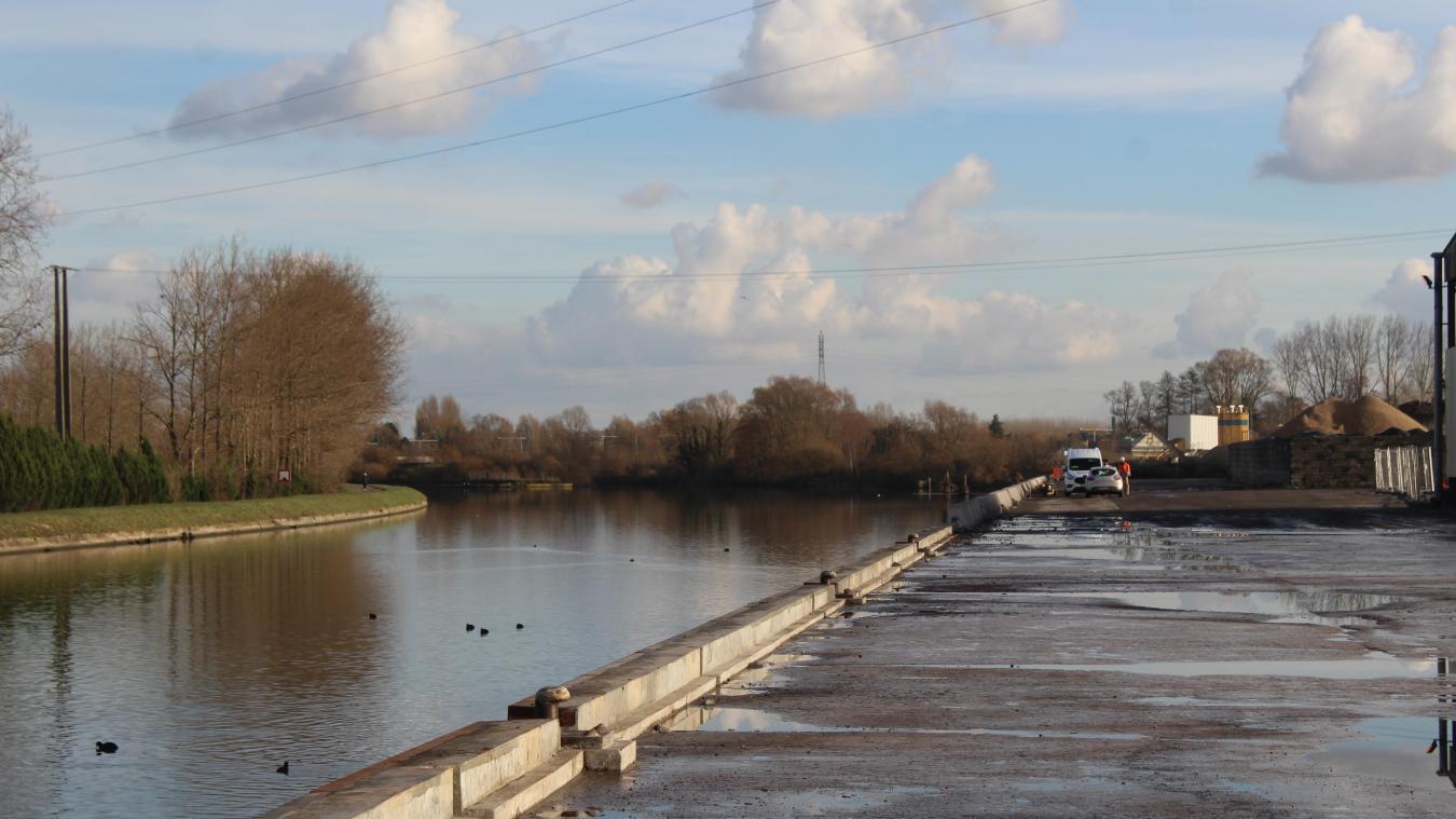 Béthune: le port fluvial assume ses ambitions