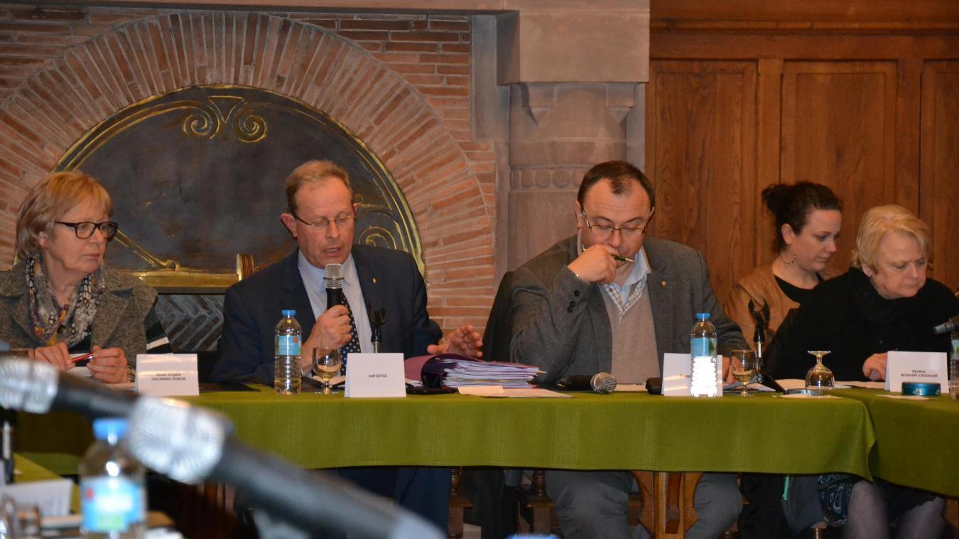 Les tensions restent vives entre le maire et son premier adjoint. (photo d'archives)
