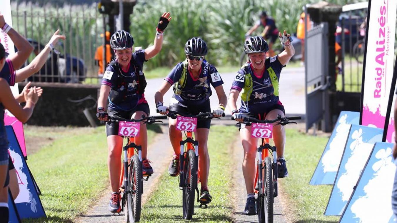VTT, canoë, course à pied ou course d'orientation... les trois Bruaysiennes ont enchaîné les épreuves on ne peut plus diversifiées.
