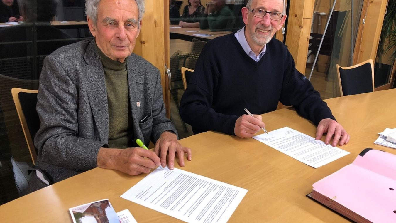 Une convention a été signée entre la municipalité et la Fondation de France.
