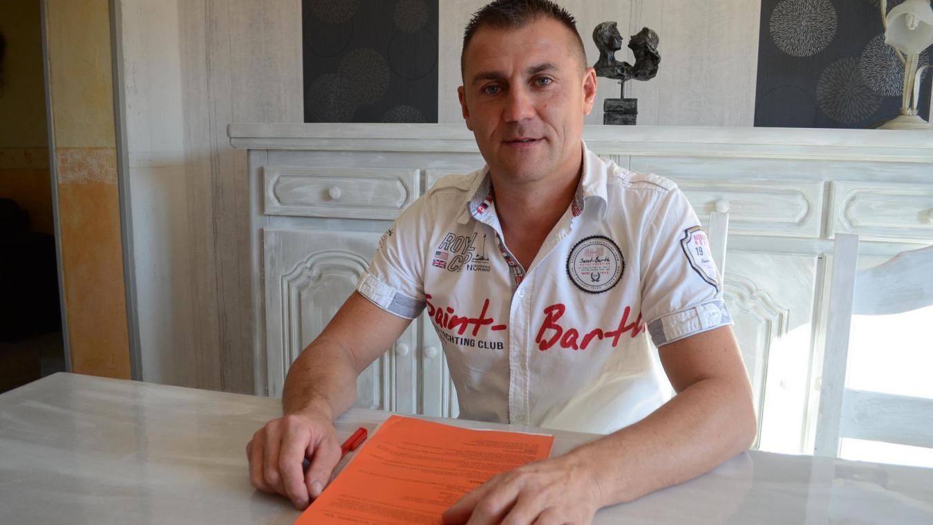Frédéric Ségard dirige désormais la section de la CFDT chez TKES UGO.