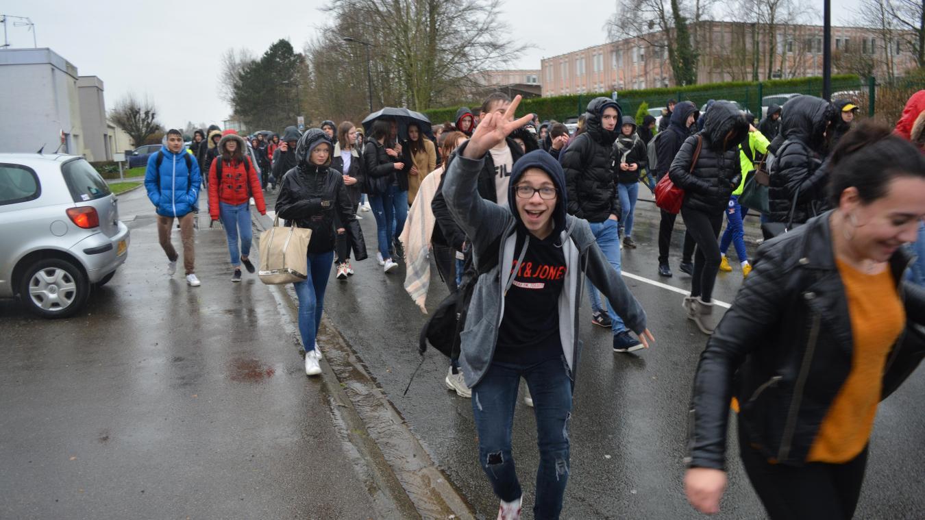 Montreuil : les lycéens font entendre leur colère (vidéo + photos)
