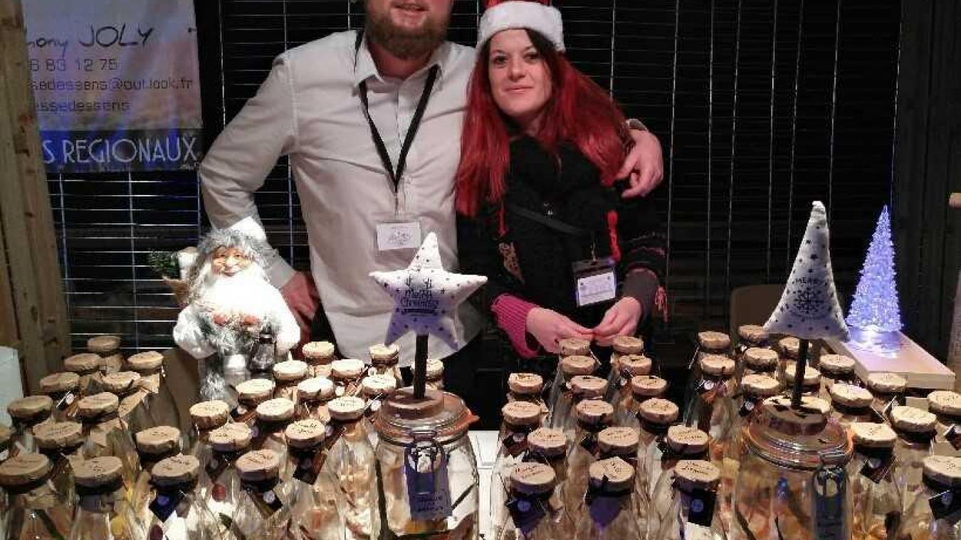 Anthony Joly et sa concubine, Audrey Delalleau, seront présents au marché de Noël d'Aire-sur-la-Lys du 14 au 23 décembre.