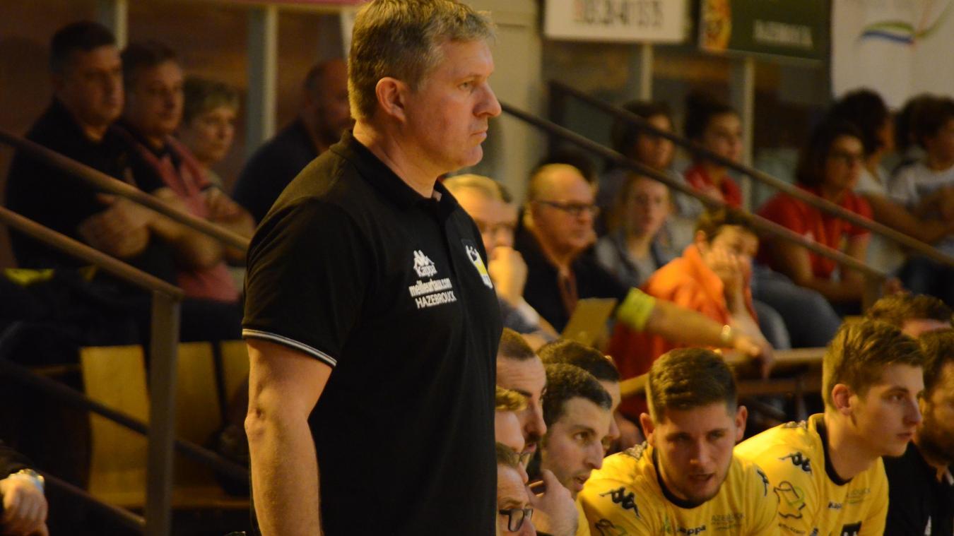 Hervé Martin espère que son équipe sera plus régulière dès janvier 2019.