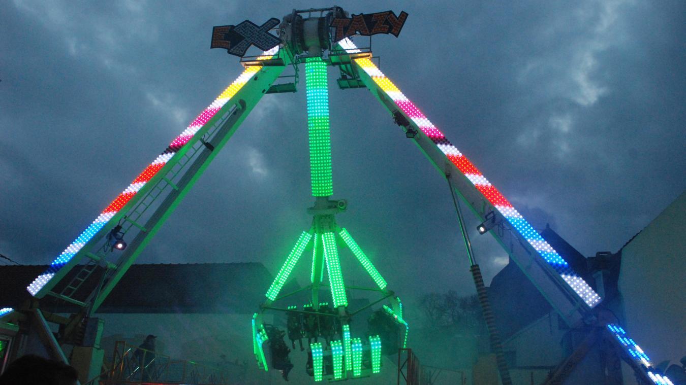 Enfantins ou à sensation, les manèges feront des heureux dans la cité de Charles-Quint lors de la traditionnelle foire de la Saint-Nicolas.