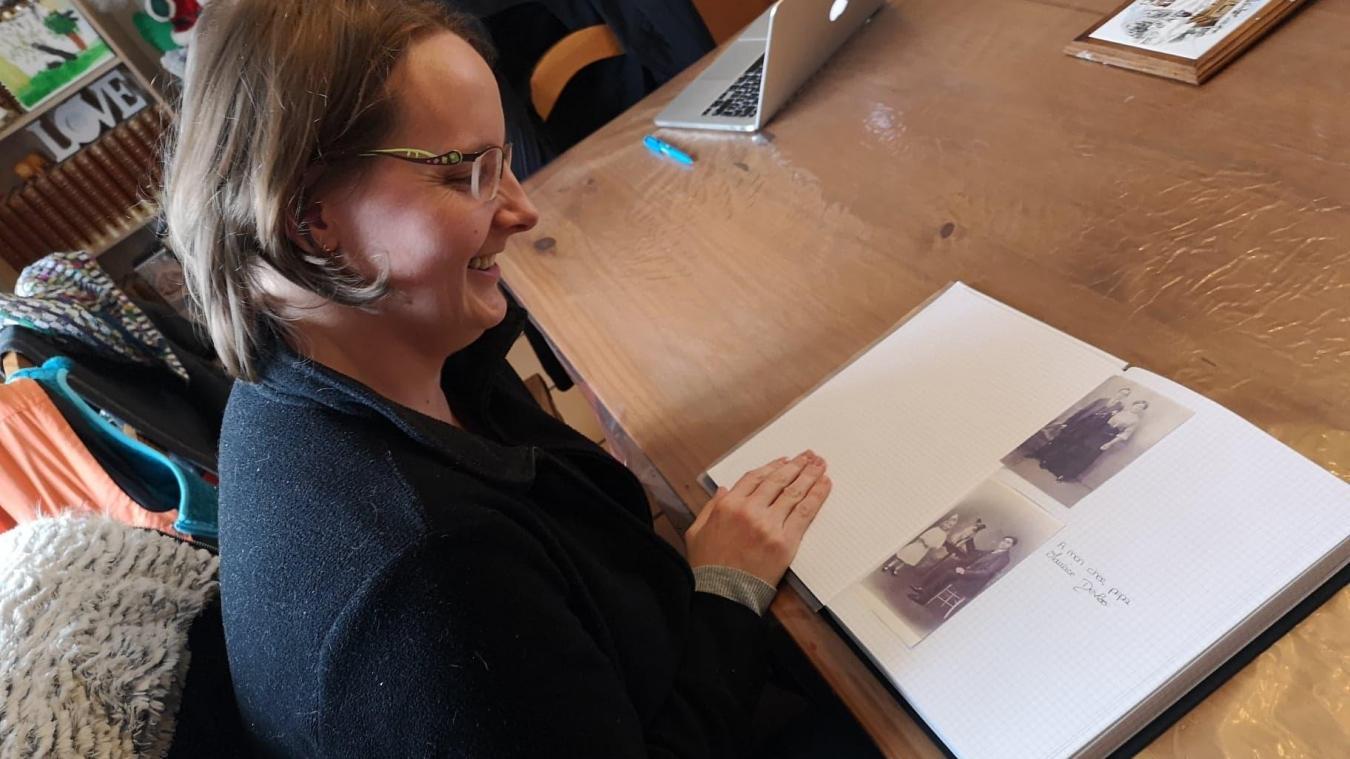 Avec ce travail, « je ne suis pas dans le jugement, c'est l'histoire qui est importante », affirme Jennifer Lallain.