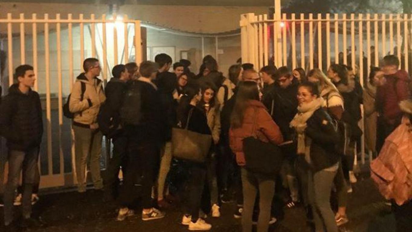 Arras: les lycéens répondent présent au blocage