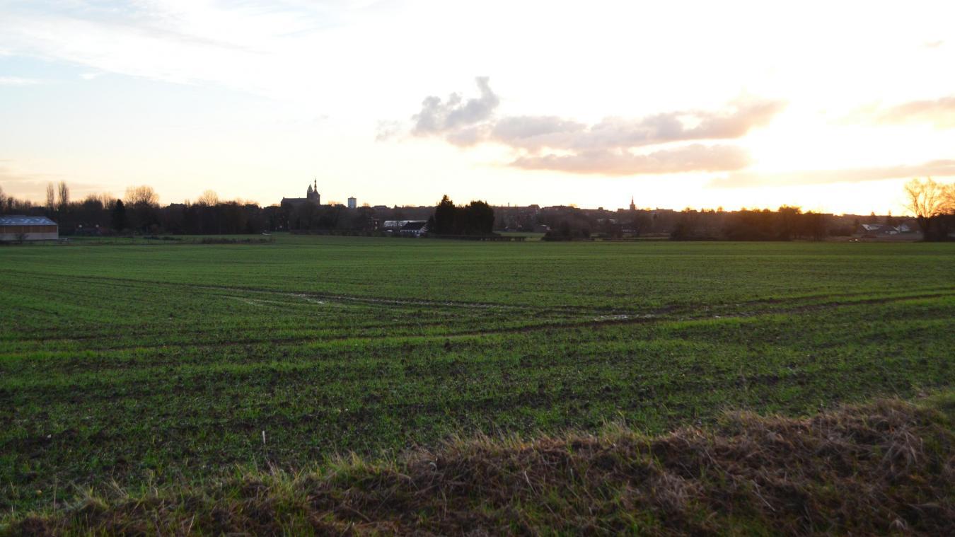L'unité de méthanisation pourrait s'élever Abeelstraete, à Bailleul. Un terrain qui se situe à proximité de Méteren et de Saint-Jans-Cappel.