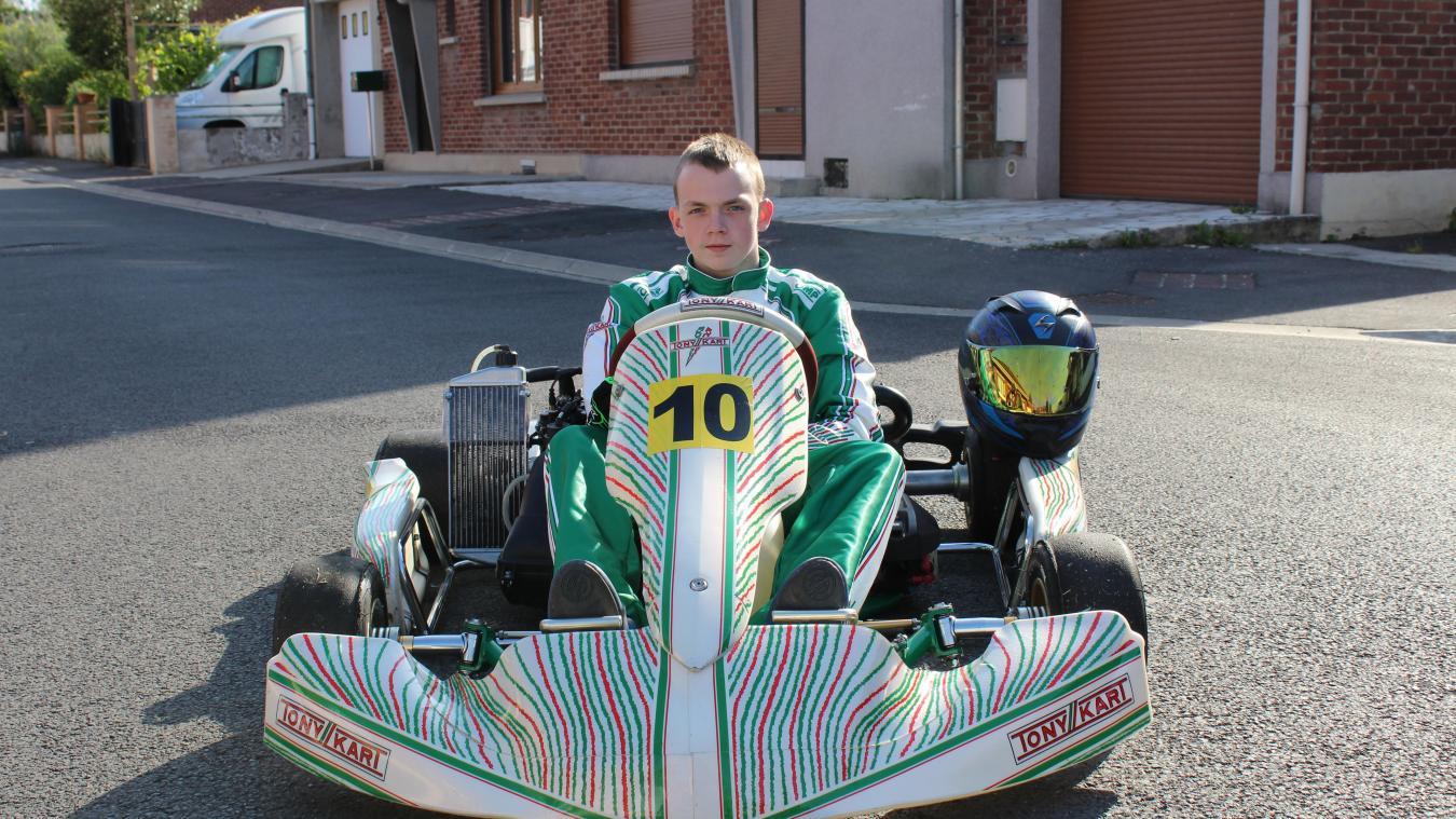 Nœux-les-Mines : Maxime Bollengier roule plus vite