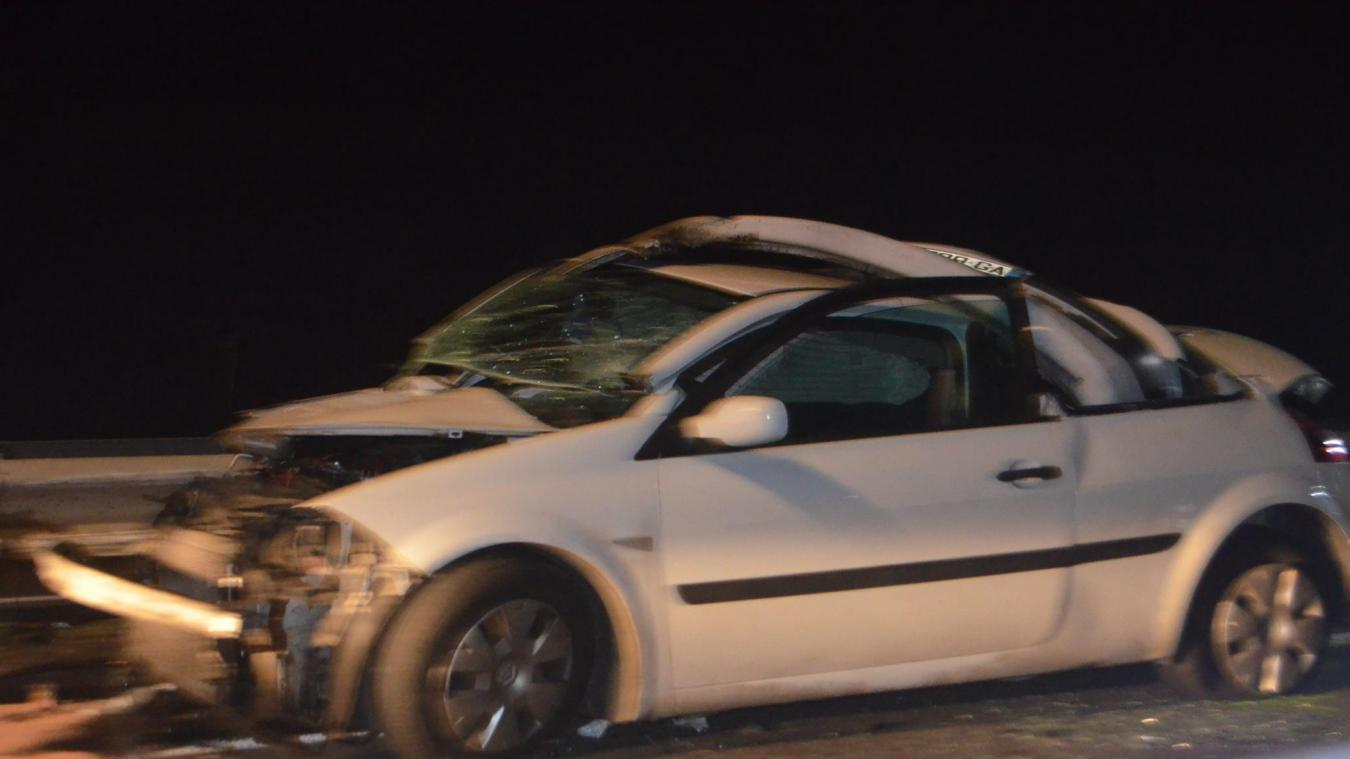 A16 : un blessé grave dans une collision entre une voiture et un poids lourd