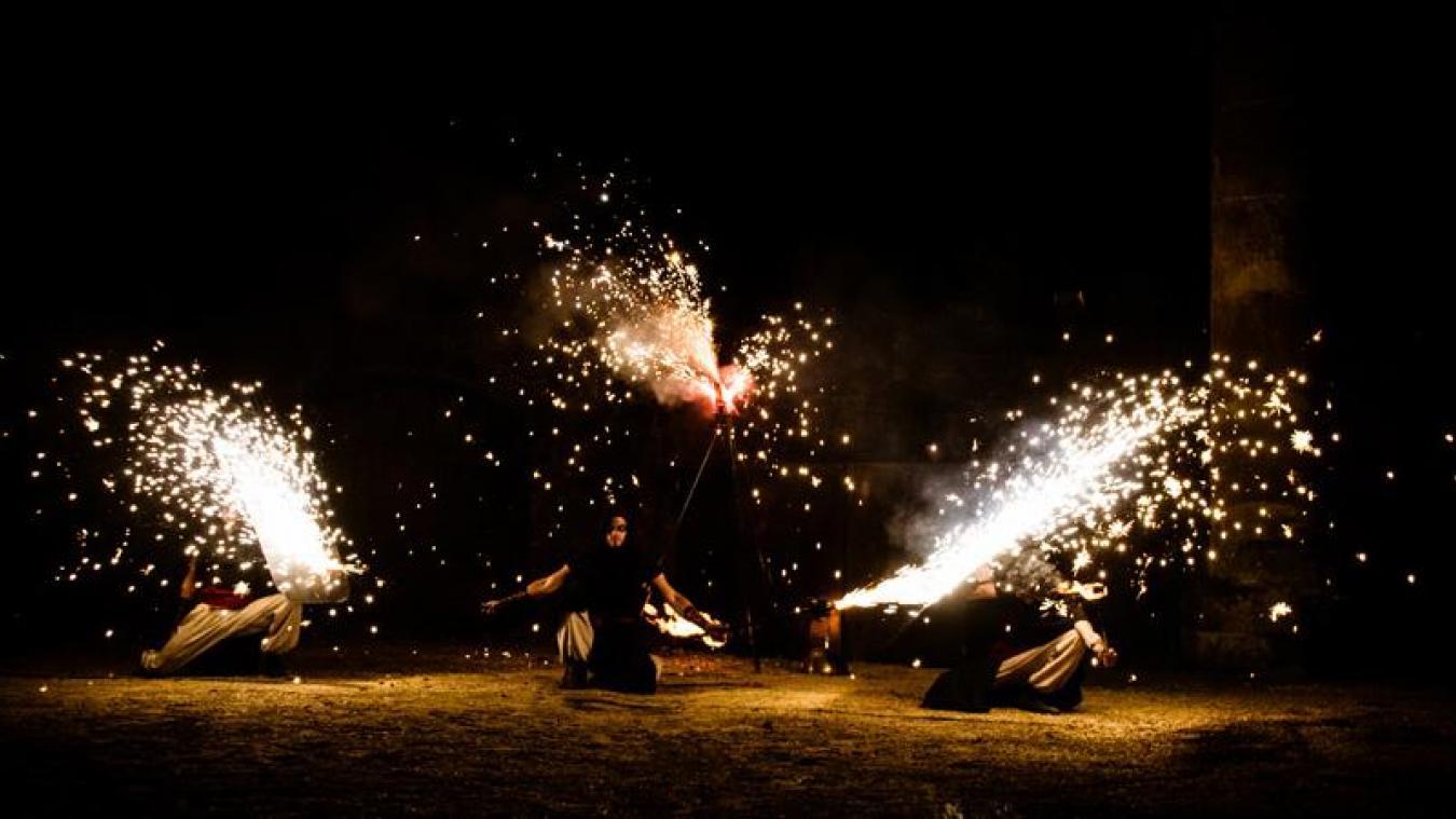 Un spectacle de feu aura lieu sur le parking samedi 15 décembre à 18h30.