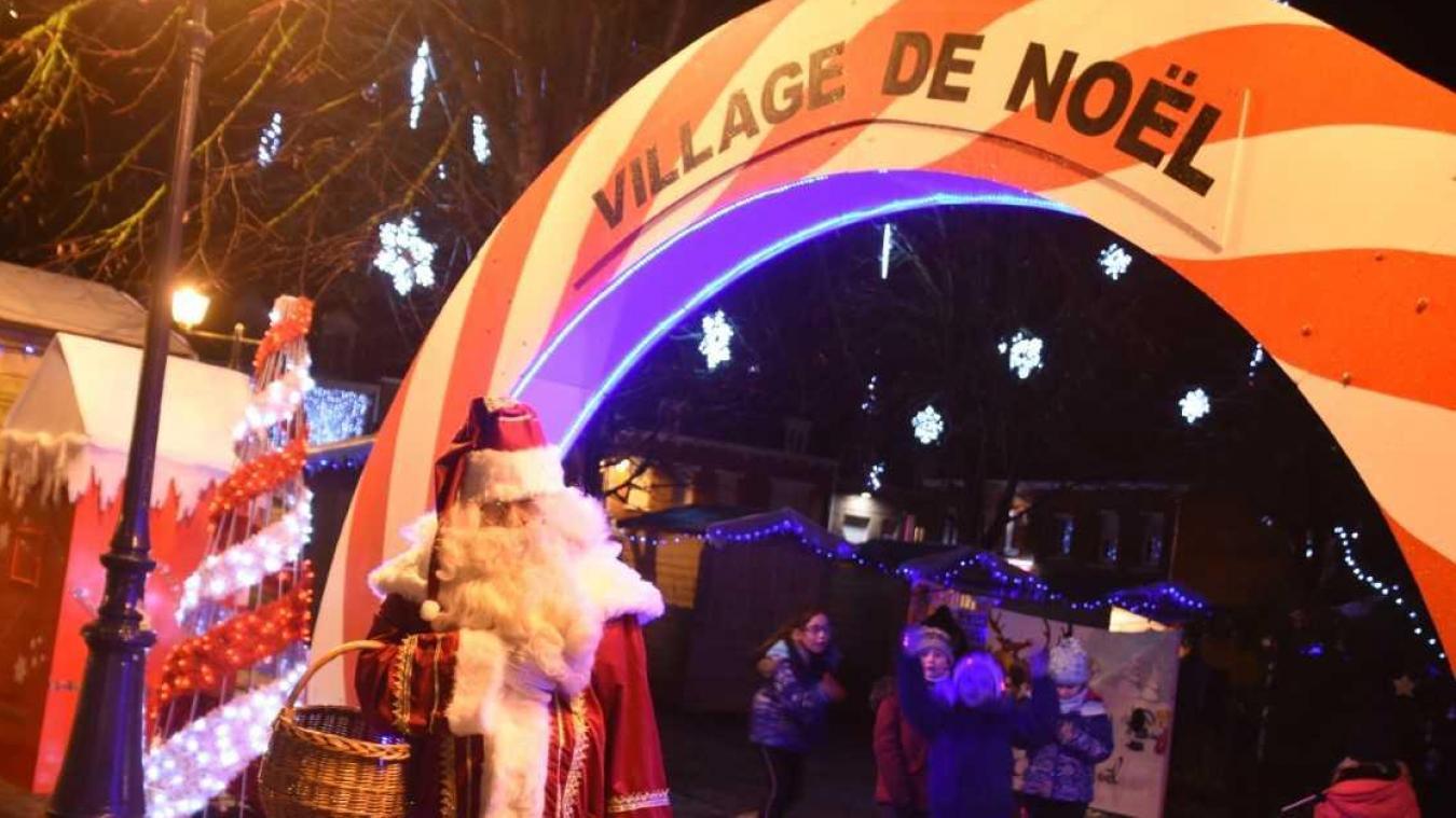 Comme l'an passé, le Père Noël attend à son Village petits... et grands  ! (photo Musicograph)