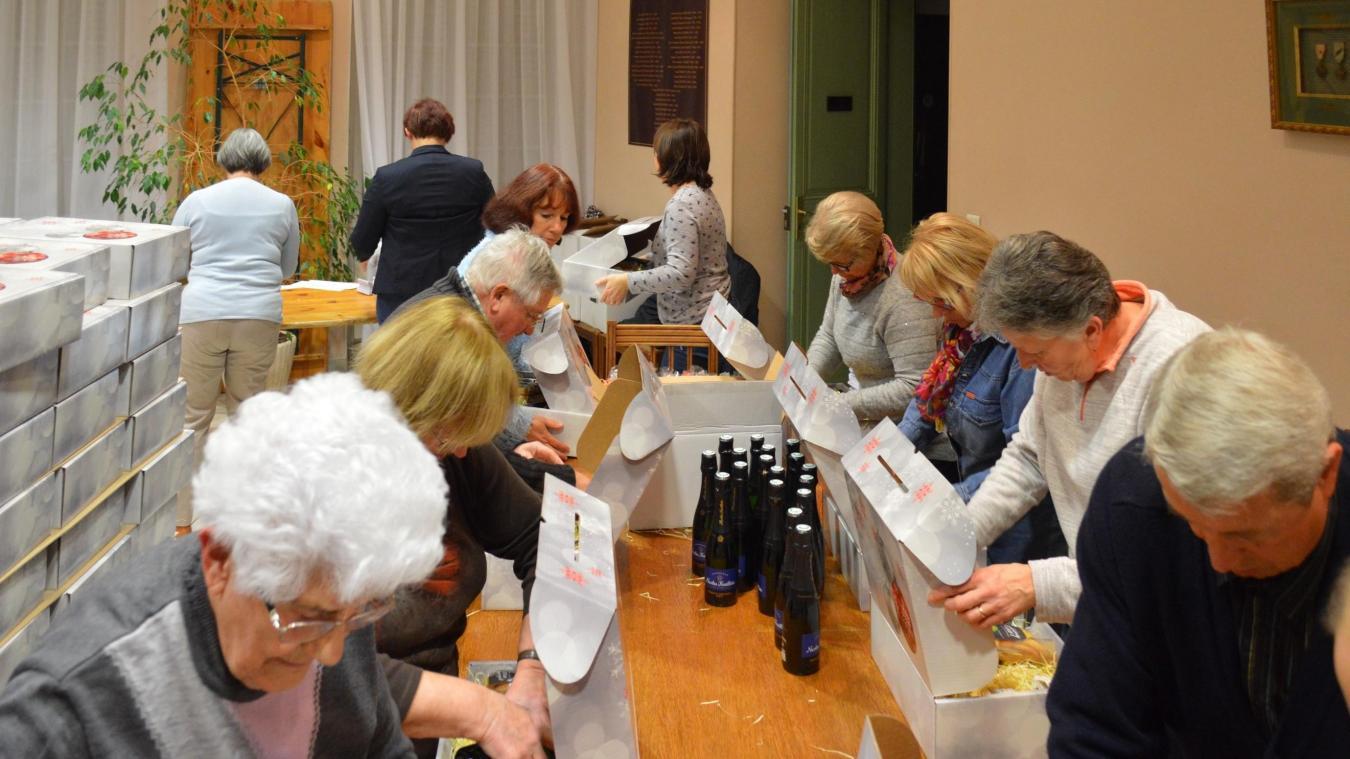 Le samedi 15 décembre, dès 8 h, les élus de la commune et le personnel du CCAS distribueront les colis.  Photo d'illustration