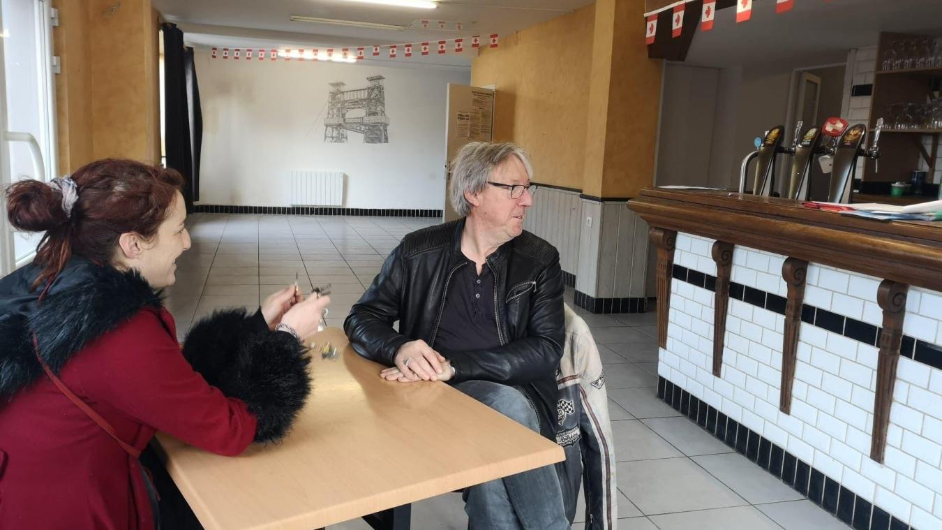 Audrey Chaillan, coordinatrice du territoire et Dominique Hays, président des Anges Gardins, venaient tout juste de récupérer les clés du Saint-Hubert le 10 décembre.
