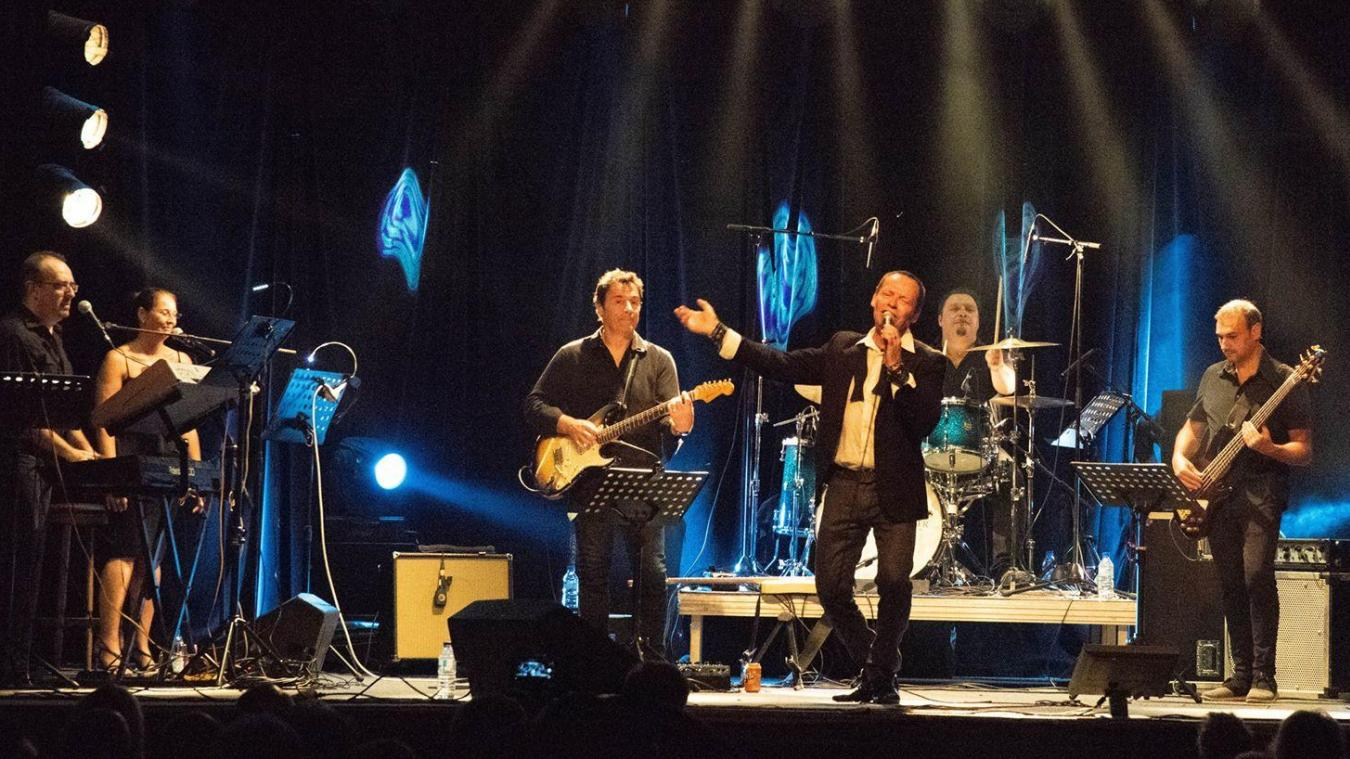 Le groupe en pleine performance au Portel (© David Saint Georges).