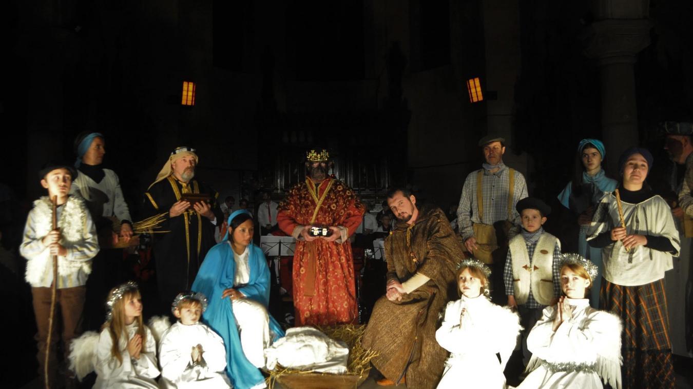 L'an dernier, Cédric et Julie, les parents de Marius, avaient tout de suite accepté de participer à cette tradition.