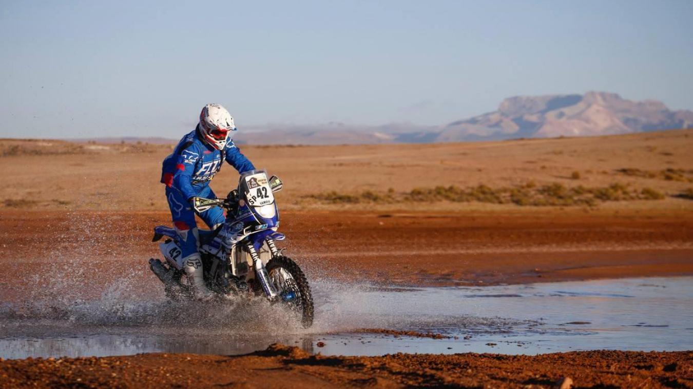 6 e  en 2016 puis 4 e  en 2017 avant d'abandonner l'année dernière alors qu'il était en tête de la course, Adrien Van Beveren espère cette année découvrir les joie d'un premier podium sur le Dakar.