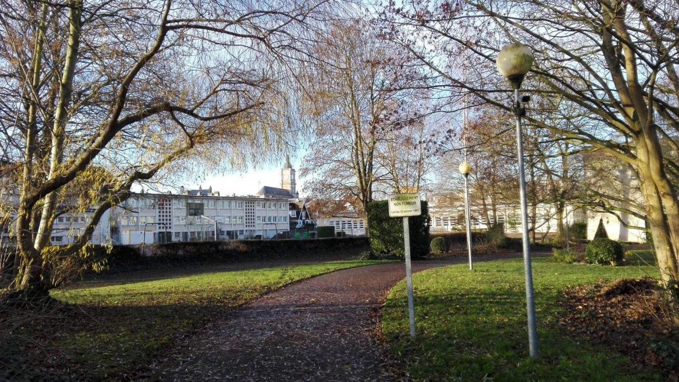 Lens: un parking au lycée Condorcet, mais pas au prix des arbres