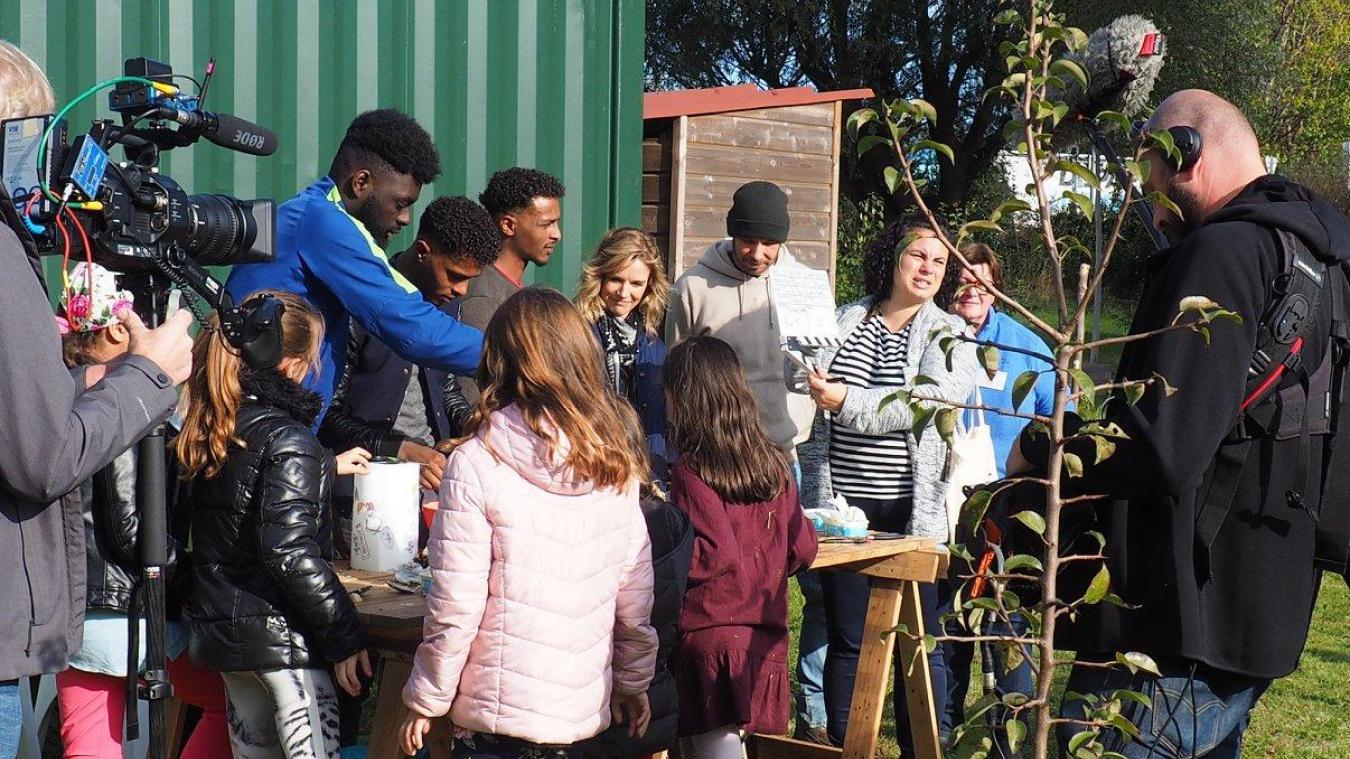 En octobre dernier, l'équipe de tournage est venue suivre les différentes associations de Grande-Synthe pour rendre compte des initiatives locale.