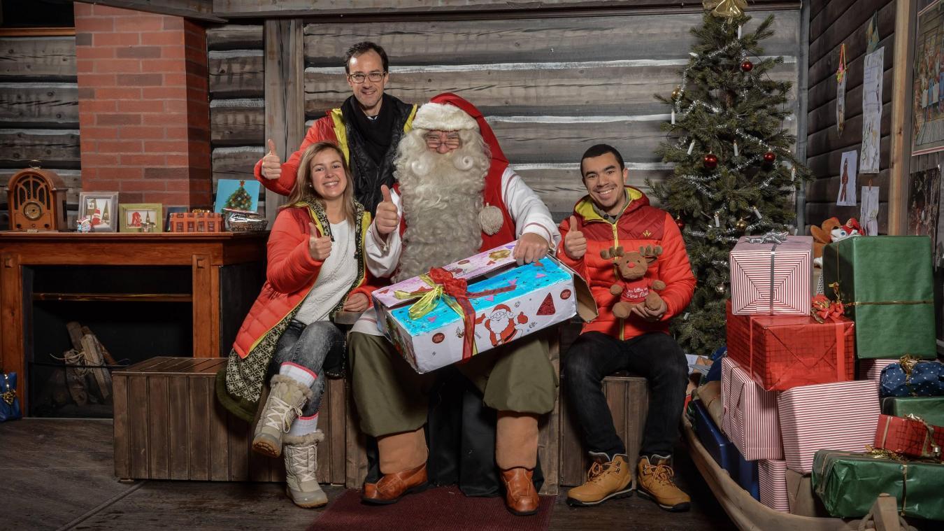 Gwen, l'Arrageoise qui ramène des lettres au père Noël