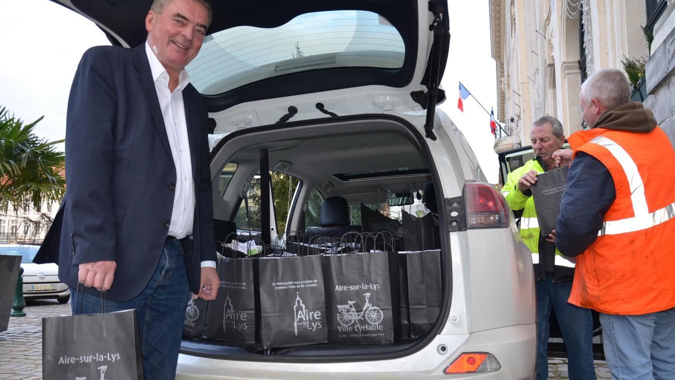 1 800 colis distribués aux aînés à Aire