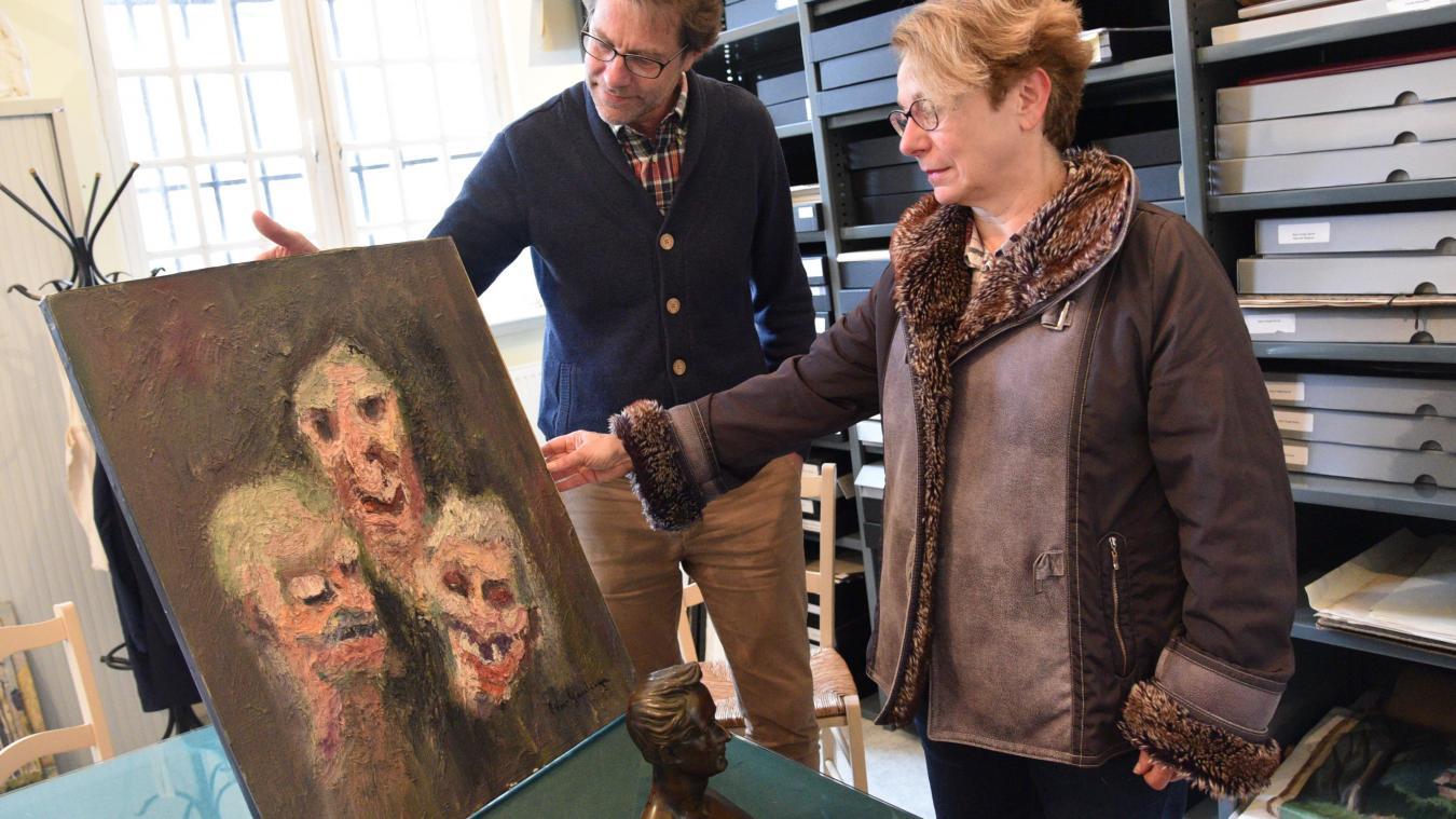 Le musée a récemment fait l'acquisition d'une statuette de Lamartine et d'un tableau, « Les Sorcières », peint par l'artiste dunkerquois Vanghevelinge.