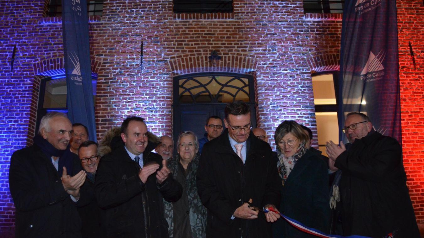 La réhabilitation du presbytère a été inaugurée vendredi 14 décembre.
