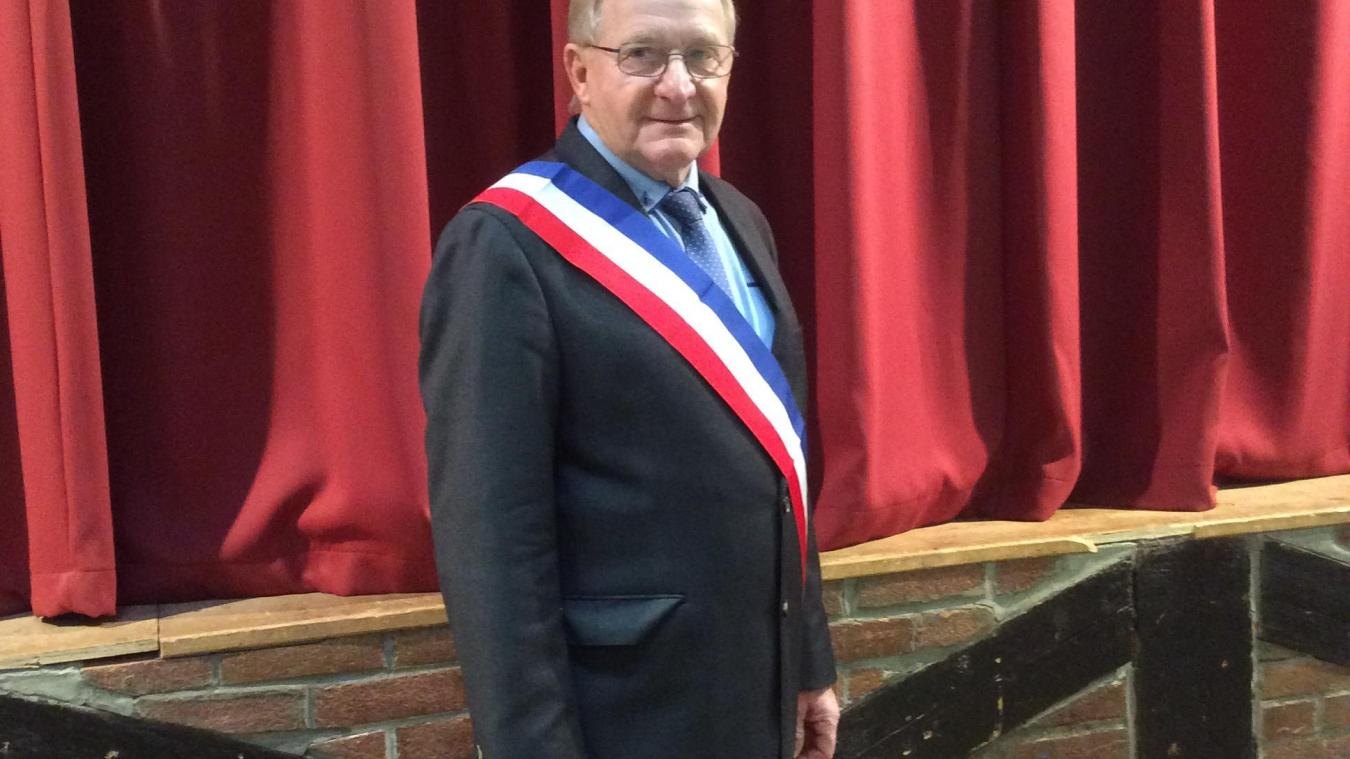 André Hennebelle a été réélu maire