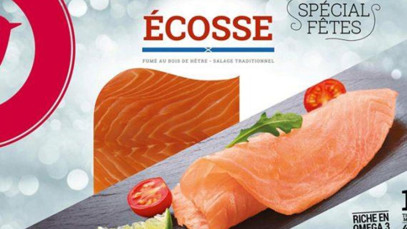 Attention au saumon fumé Auchan, la DLC n'est pas bonne