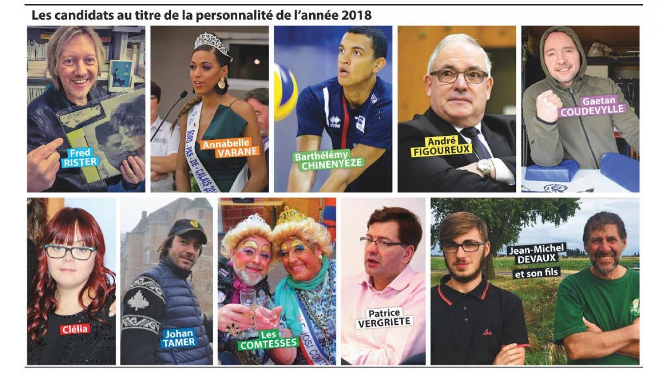 Qui succédera à Damien Carême, maire de Grande-Synthe, vainqueur l'an dernier du concours des personnalités de l'année ?