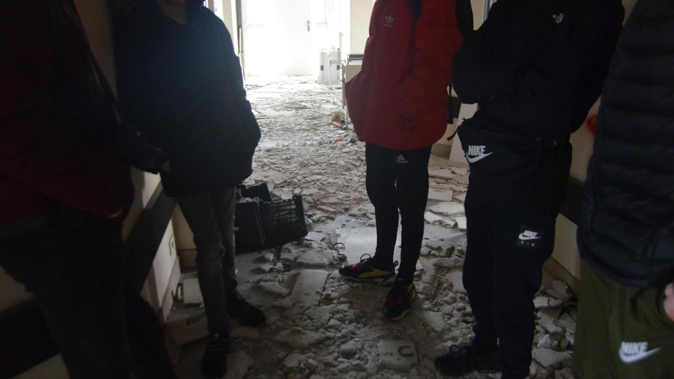 (Vidéos + photos) La clinique de Sainte-Catherine victime des outrages du temps et des vandales