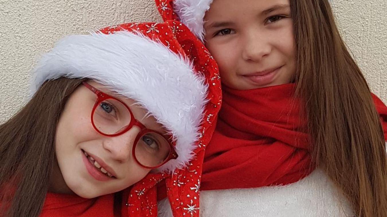 Duo deux filles parmi les artistes de ce concert de Noël.