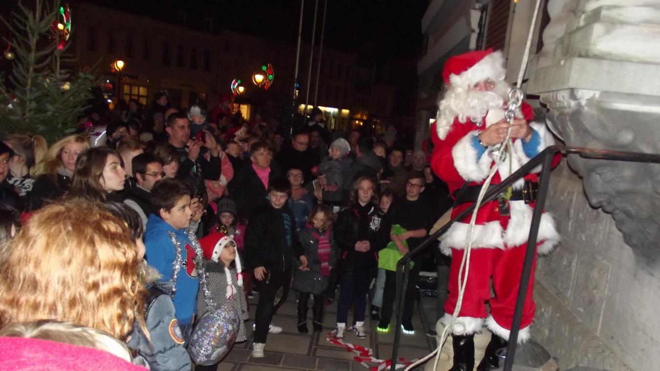 N'oubliez pas de venir voir le Père Noël ce samedi à Lillers
