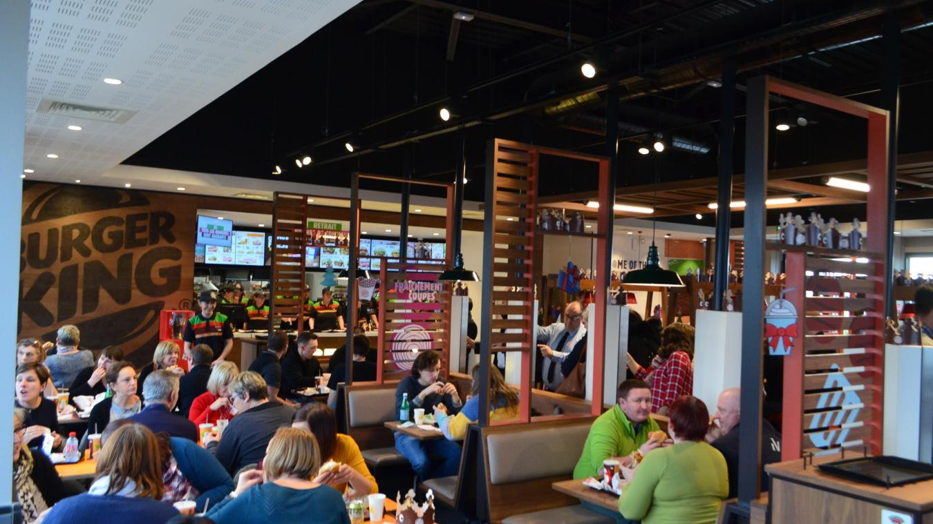 Nieppe: ça y est, Burger King ouvre ses portes (photos et vidéo)
