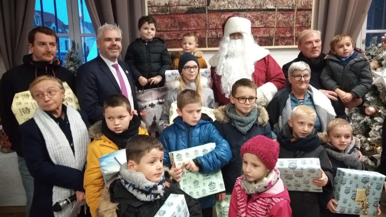 La remise des prix du 29 e  concours de guénels a eu lieu dimanche en mairie d'Étaples.