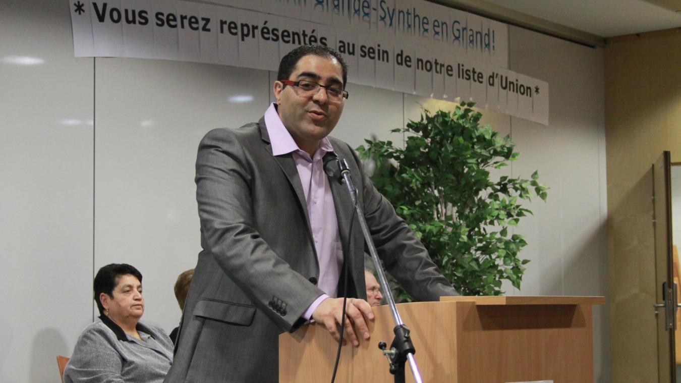 Féthi Riah, élu d'opposition, souhaite participer à un voyage d'étude autour du conflit israélo-palestinien.
