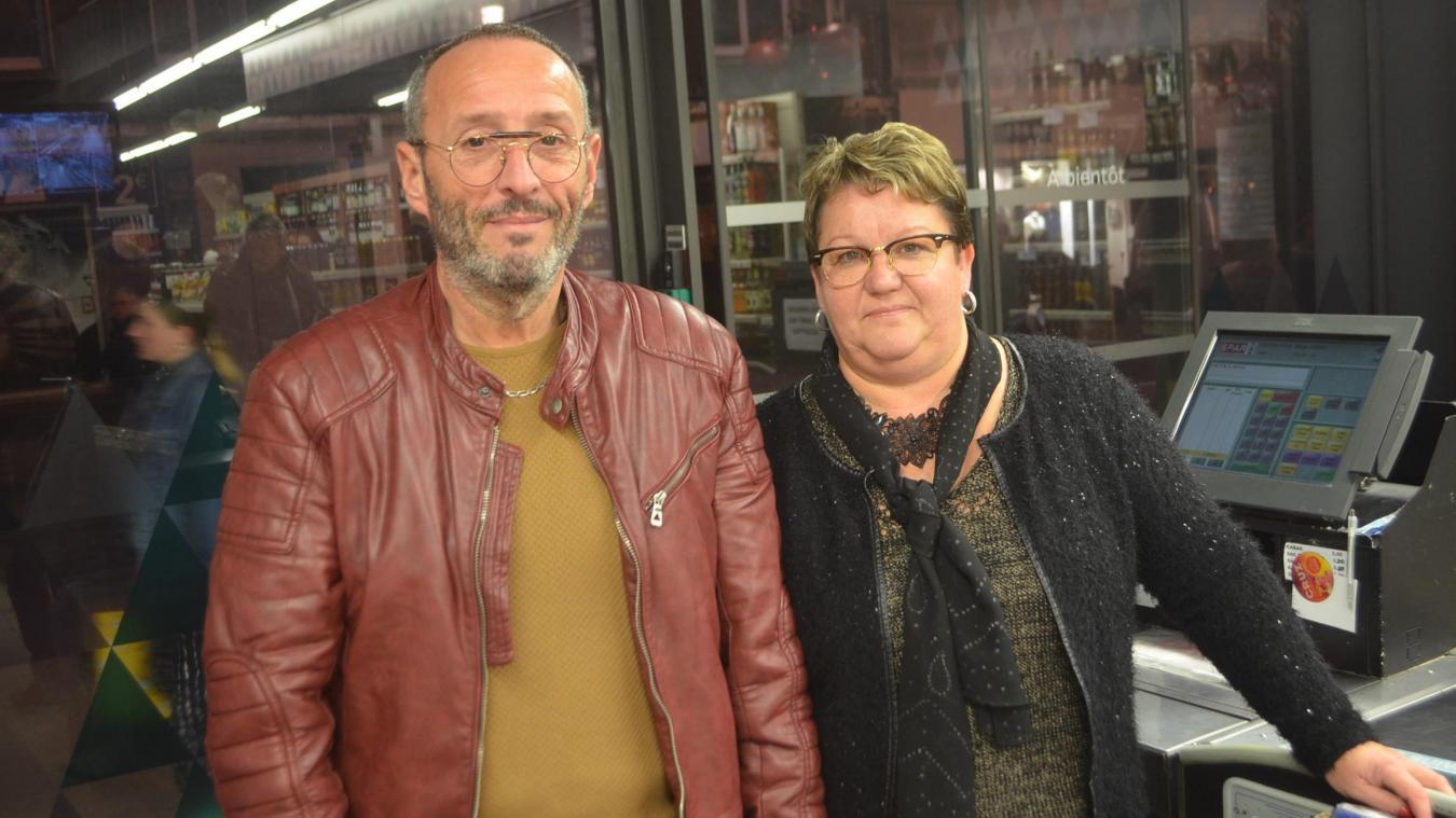 Bruno et Fabienne Trupin étaient à la tête de la supérette depuis six ans.
