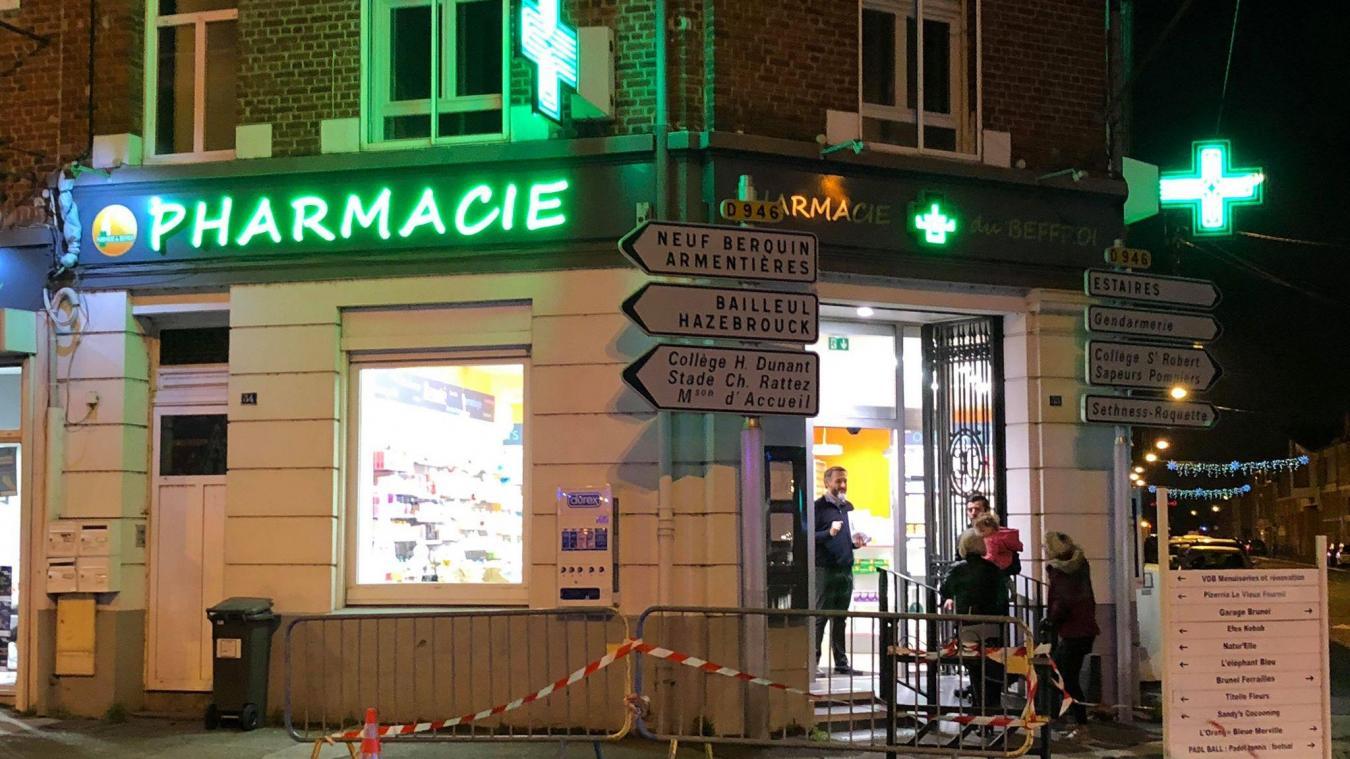 L'homme, un quadragénaire, a demandé de l'iode à la pharmacie.