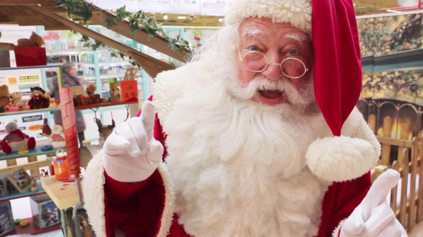 Le véritable Père Noël a bien voulu nous accorder quelques minutes.