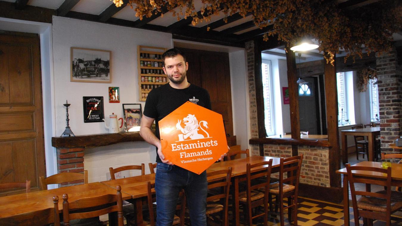 Comme la Brasserie Saint-Georges, dix-sept autres établissements possèdent le label Estaminets Flamands.