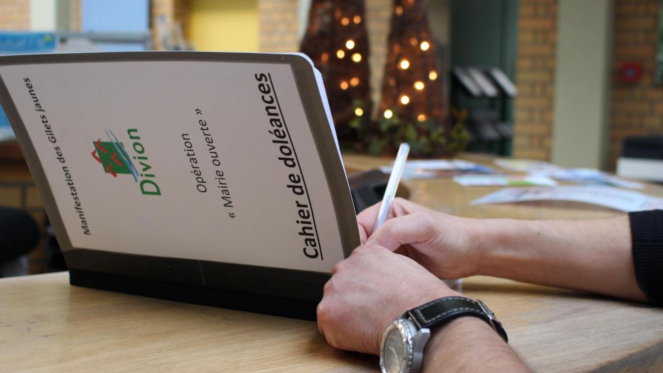 Le cahier sera présent en mairie jusqu'à la fin de l'année 2018.