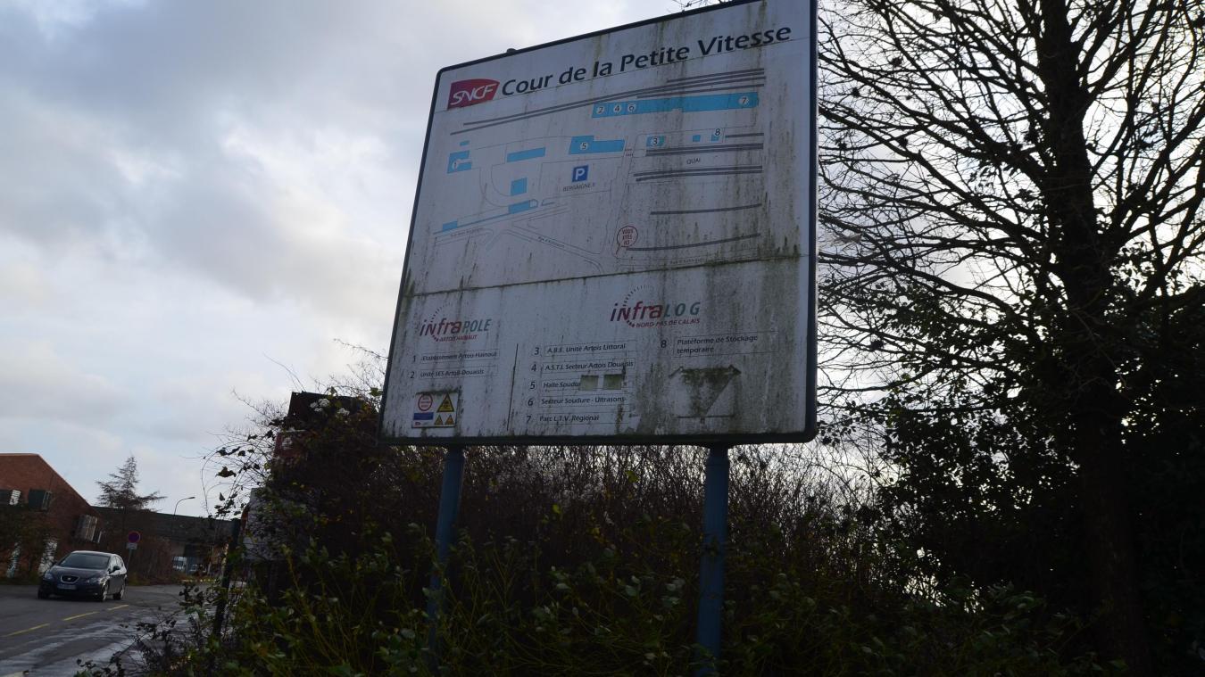 La SNCF devrait quitter cette zone pour  une autre à proximité de la gare.