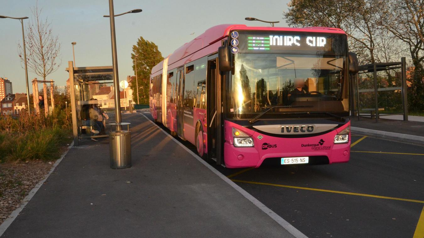 L'agression s'est déroulée sur le réseau Dk'Bus, à Leffrinckoucke, ce lundi 24 décembre. © illustration