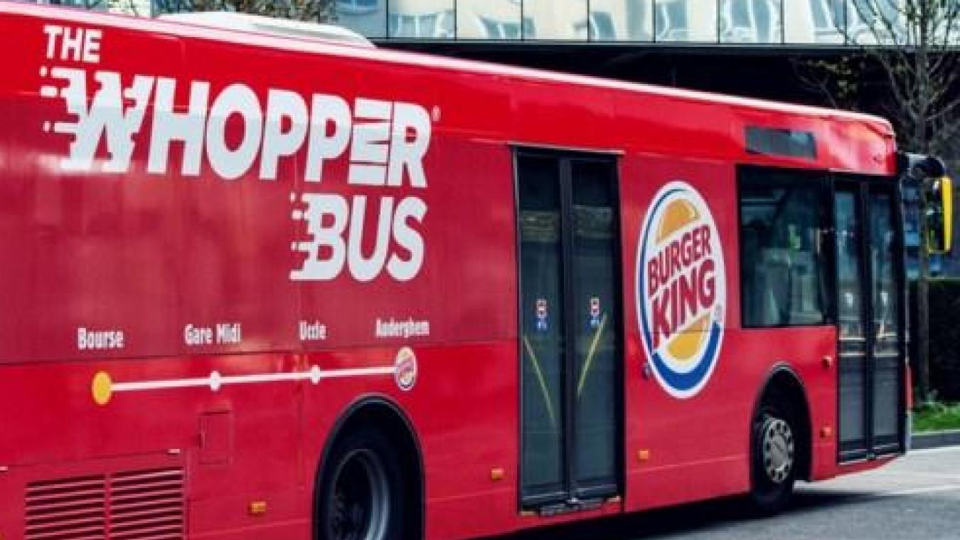 Burger King veut lancer ses propres bus pour chercher ses clients