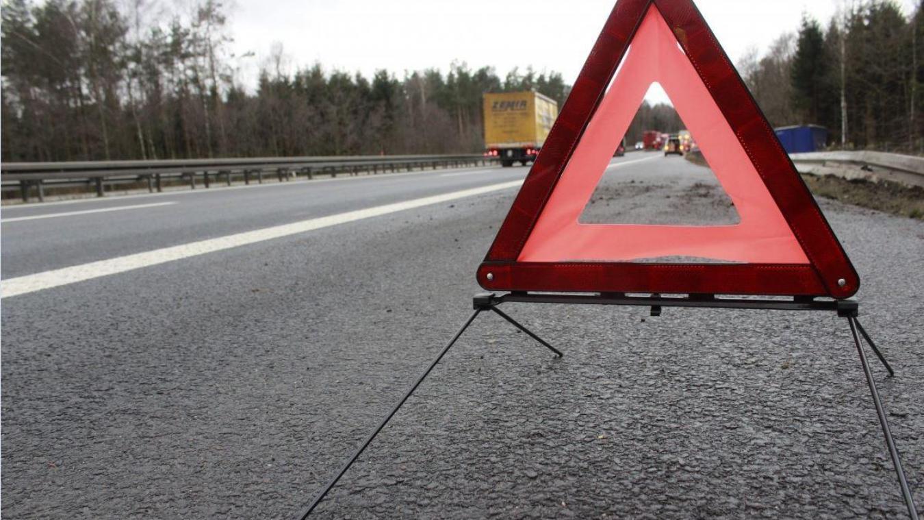 L'accident s'est produit le jour de Noël, en début de soirée sur la route qui mène à Hesdin-l'Abbé. © Illustration